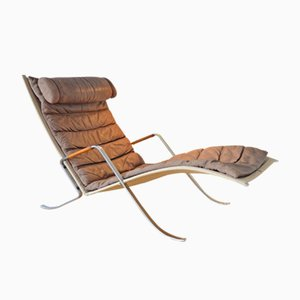 Vintage Grasshopper Arm Chair by Preben Fabricius and Jørgen Kastholm for Kill International, 1967