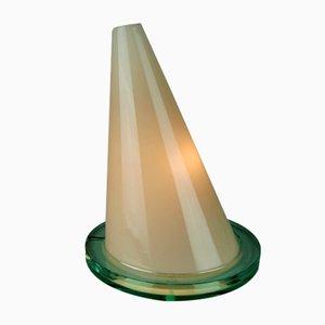Lámpara de mesa Oz italiana moderna de vidrio de Daniela Puppa & Franco Raggi para Fontana Arte, años 80