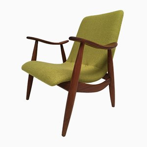 Scandinavian Teak Easy Chair by Louis van Teeffelen for Wébé, 1950s