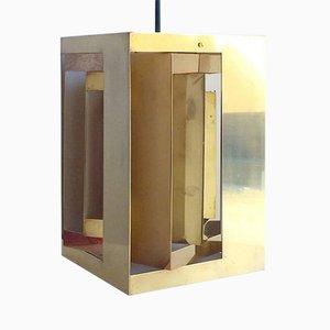 Lampada a sospensione Kassablanka in ottone di Simon Henningsen per Lyfa