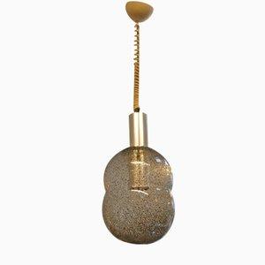 Lámpara colgante italiana de vidrio de Tobia Scarpa para Flos