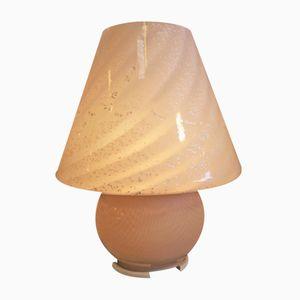 Large Italian Glass Table Lamp