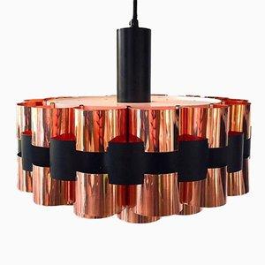 Luz de techo danesa Mid-Century de cobre para Fog & Morup