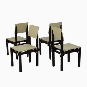Military Stühle von Gerrit Rietveld, 1930er, 4er Set