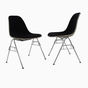 Fiberglas Stühle von Charles & Ray Eames für Herman Miller, 1968, 2er Set