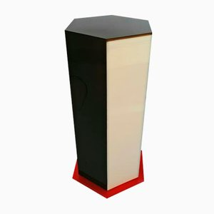 Columna liviana francesa de plexiglás, años 70
