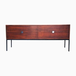 Large Rosewood Sideboard by Antoine Philippon and Jacqueline Lecoq, 1960s