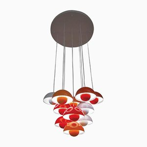 Lampada da soffitto Flower Pot di Verner Panton per Louis Poulsen, 1968