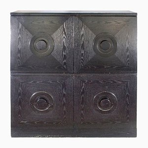 Black Art Deco Cabinet, 1930s