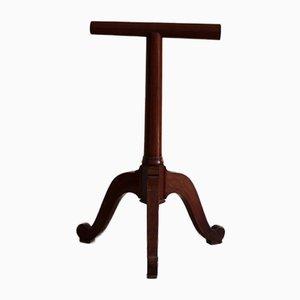 Apoyo para silla de montar antiguo de cerezo