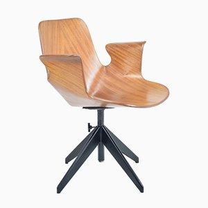 Chaise de Bureau par Vittorio Nobili pour Fratelli Tagliabue, 1950s