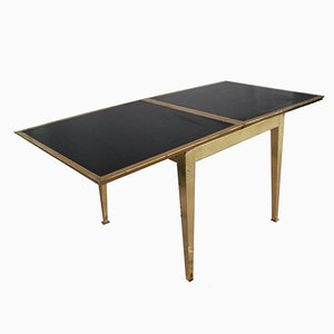 Modernist Italian Flip-Top Table