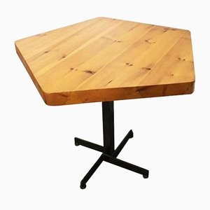 Les Arcs Pentagonal Tisch von Charlotte Perriand, 1960er