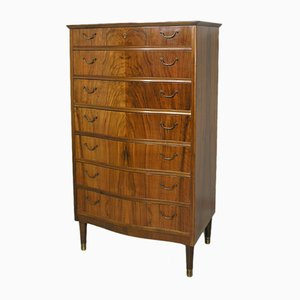 Danish Walnut Chest of Drawers