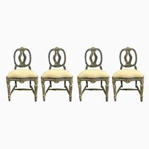 Chaises d'Appoint Vintage, Suède, 1929, Set de 4