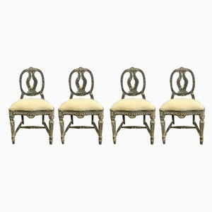 Vintage Swedish Side Chairs, 1929, Set of 4