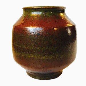 Lasierte Solfatara Steingut Vase von Marianne Starck für Michael Andersen & Son, 1950er