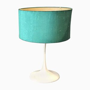 Mid-Century Turquoise Table Lamp by Eero Saarinen for Knoll, 1960s