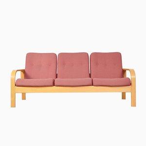 Sofá de tres plazas de recibidor, años 70