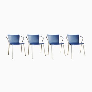 Vico Duo Charis by Vico Magistretti for Fritz Hansen, 2000, Set of 4