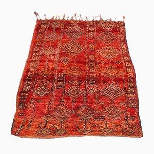 Vintage Moroccan Boujad Carpet, 1970s
