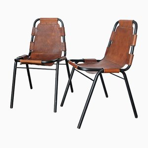 Dining Chairs by Charlotte Perriand for Les Arcs Ski Resort, Set of 2
