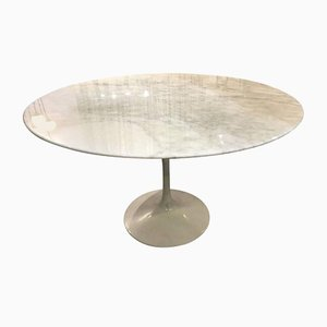 Calacatta Marble Tulip Table by Eero Saarinen for Knoll
