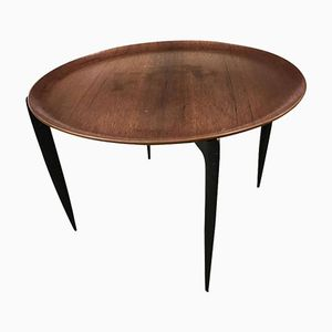 Round Table by Engholm & Willumsen for Fritz Hansen, 1950s