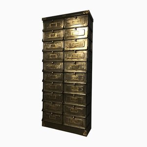Industrial 20 Valve Drawers Cabinet by Strafor