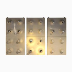 Panels Sconces from Raak Amsterdam, 1970s, Set of 3