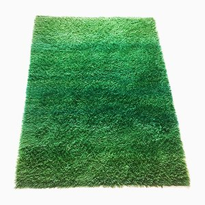Green Rya Rug by Marianne Richter for Wahlbecks AB, 1960s