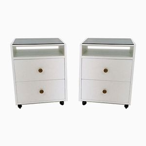 Bedside Tables by Carlo de Carli for Luigi Sormani, 1963, Set of 2