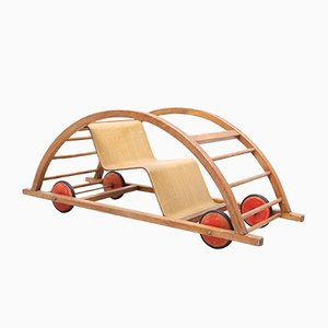 German Race Car Toy by Hans Brockhage and Erwin Andra, 1950s