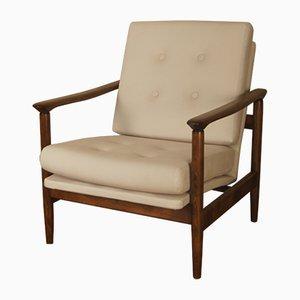 Polish Lounge Armchair by Edmund Homa for Gościcińska Fabryka Mebli, 1960s