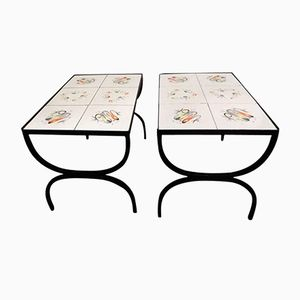 Coffee Tables by Roger Capron, 1960s, Set of 2