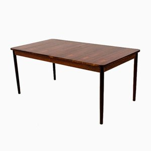 Mid-Century Modern Dutch Rosewood Extendable Dining Table by Fristho, 1960s
