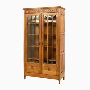 French Art Nouveau Bookcase, 1900s