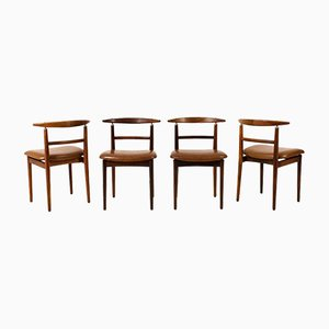 Mid-Century Modern Chairs by Helge Sibast for Sibast, Set of 4