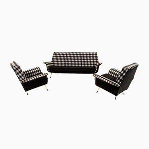 Italienisches Mid-Century Modern Lounge Set, 1960er