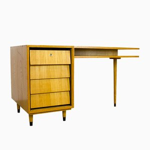 Freistehender Schreibtisch von Erich Stratmann für Idee Möbel Programm, 1955
