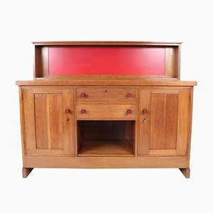 Haagse School Sideboard by H.Wouda for Pander, 1920s