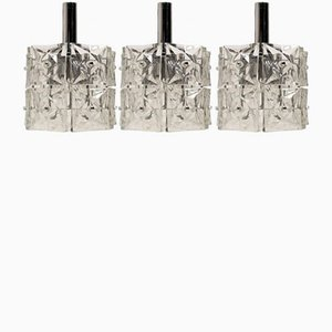 Mid-Century Modern Pendants from Kinkeldey, 1967, Set of 3
