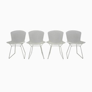 Model 420 C Dining Chairs by Harry Bertoia for Knoll, Set of 4