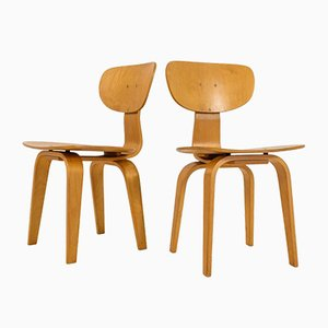 SB02 Stühle aus Combex Serie von Cees Braakman für Pastoe, 2er Set