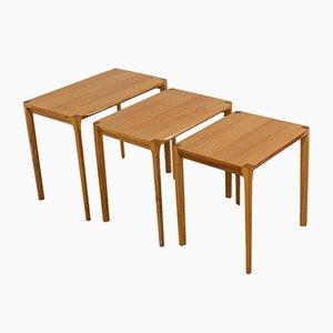 Tavolini a incastro Mid-Century moderni di Rex Raab per Wilhelm Renz