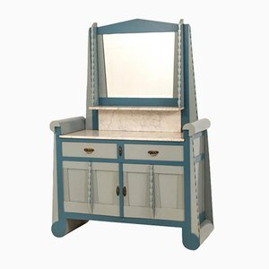 Amsterdam School Dressing Table with Mirror