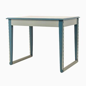 Amsterdam School Blue Console Table