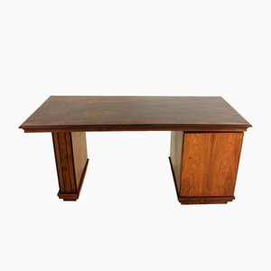 Rosewood Art Deco Desk from Reens Amsterdam