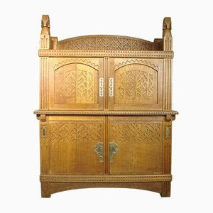 Antique Arts & Crafts Cabinet