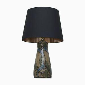 Lampe Monumentale Art Nouveau en Céramique de Horstens Danico, 1900s